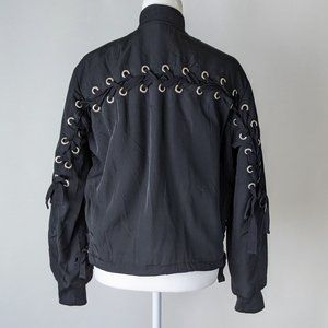 H&M Divided Women's Bomber Jacket with Lacing